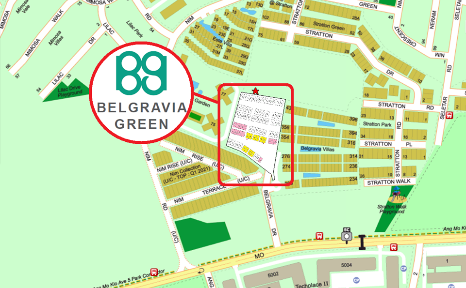 Belgravia Green Location