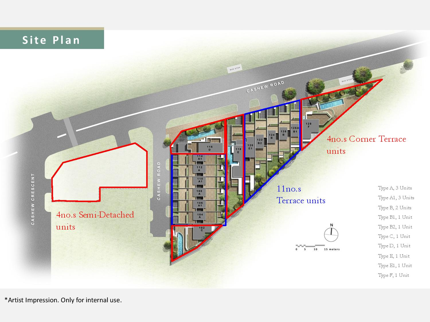 Cashew Green Site Plan