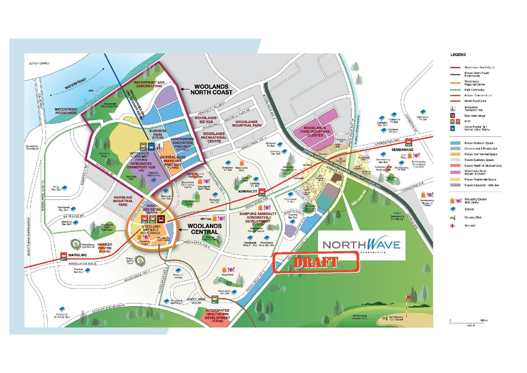 Northwave Residences Location map