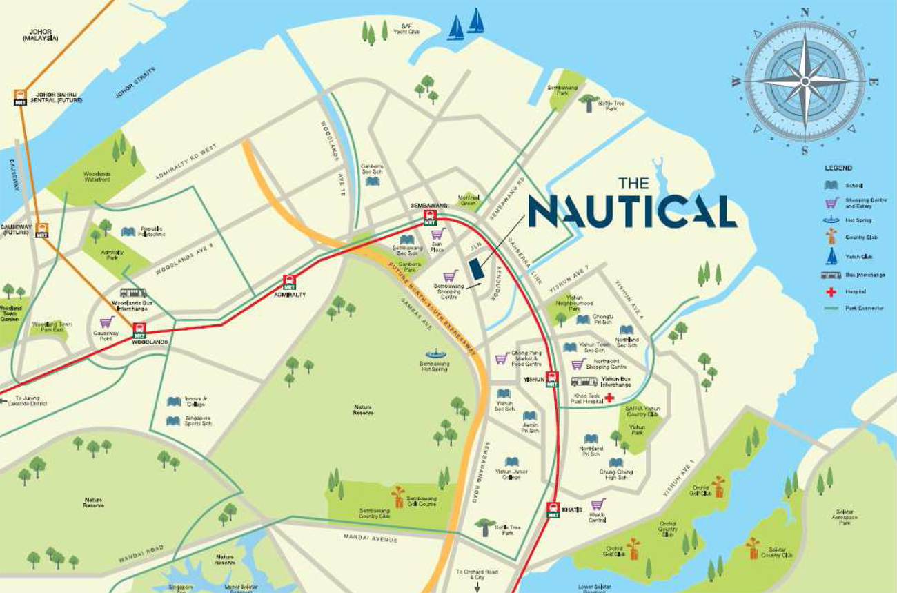 The Nautical @ Jalan Sendudok location