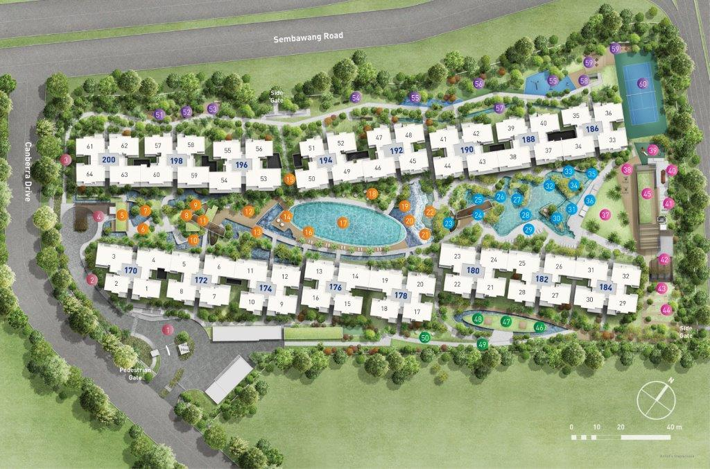 The Visionnaire Site Plan